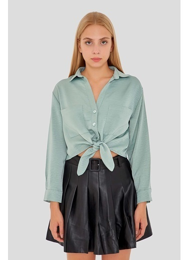 Modaset Gömlek Yeşil